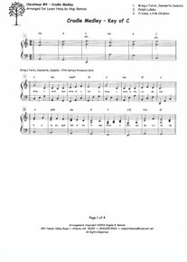 Christmas #4: Cradle Medley arr. by Angi Bemiss