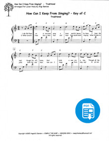 How Can I Keep From Singing? arr. by Angi Bemiss - PDF Download