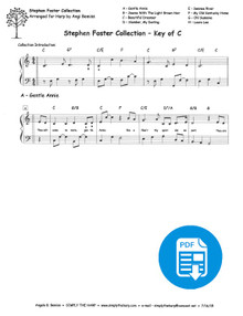 Stephen Foster Medley by Angi Bemiss - PDF Download