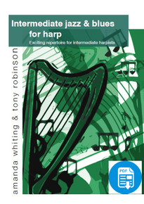 Intermediate Jazz & Blues for Harp by Amanda Whiting - PDF Download