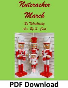 Nutcracker March for Pedal Harp arr. by K. Cook - PDF Download