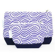 Kensington Blue cosmetic bag set