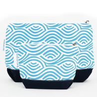 Kensington Aqua Cosmetic Bag set