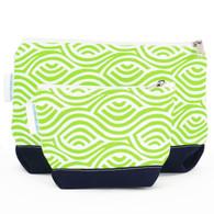 Kensington Lime Cosmetic Bag set
