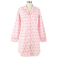 Women's nightshirt made from 100% cotton