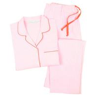 Women's crisp 100% cotton pajamas