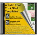 Artistic Pool Trick Shot Templates CD