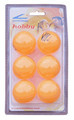 Cornilleau Hobby Table Tennis Balls ¿ 40MM Orange 6/pk