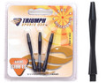 Black Nylon Shafts (in-between length) - Set of 3