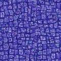 ArtScape 7' Blue Mosaic Pool Table Cloth