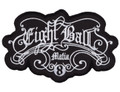 Novelty Items - Cue Brand Patch - Eight Ball Mafia - NIPATCH EBM