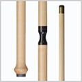Jacoby Cues -  Curly Maple jump cue - JHB-JC
