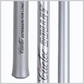 "•3 pieces •13.5mm Phenolic tip •No ferrule •28"" shaft - made of high grade Carbon Fiber •13"" handle - made of high grade Carbon Fiber •6"" extension - made of hard wood"