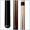 Wood: North American Hard Rock Maple  Joint: Black collar Uni-loc® Tip: Premium Everest   Weight: Standardized weighting system 18oz-21oz available  Butt cap: Black Implex