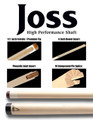 Joss Cues - Joss High Performance Shaft - JOSHP