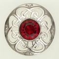 6401-10 Culloden Plaid Brooch