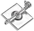 5735-2150 - Badge Pin Pressure Sensitive 100 Per Pack