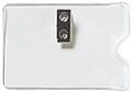 1810-1100 - Badge Holder CC/IBM  Horizontal 100 Per Pack