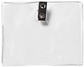 1810-1300 - Badge Holder Govt. Horizontal 100 Per Pack