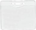 1815-1200 - Badge Holder  Govt. Horizontal 100 Per Pack