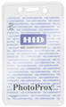 1840-5060 - Badge Holder CC/Prox Clear 100 Per Pack