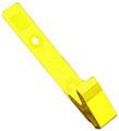 2115-2009 - Clip Plastic Delrin Strap Yellow 100 Per Pack