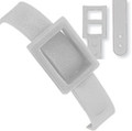 2430-2008 - Luggage Strap Plastic White 500 Per Pack