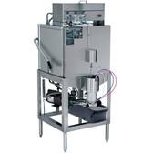 CMA Dishmachines AH Single Rack Low Temperature, Chemical Sanitizing Straight Dishwasher - 115V