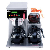 Curtis ALP3GTR12A000 12 Cup Coffee Brewer with 3 Lower Warmers on Right - 120V