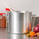 60 Qt. Standard Weight Aluminum Stock Pot