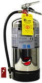 Fire Extinguisher, BUCKEYE 6 Liter Class K Wet Chemical