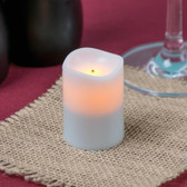 Amber Rechargeable Flameless Replacement Votive - 4/Pack