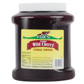 Cherry Ice Cream Topping - 6 - 1/2 Gallon Containers / Case
