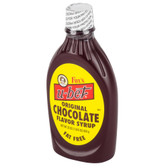 Chocolate Syrup 22 oz. Squeeze Bottle 12/Case