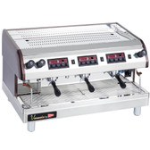 Cecilware Venezia II ESP3-220V 3 Group Espresso Machine 240V