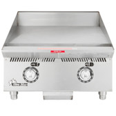 "Star 824TA Ultra Max 24"" Countertop Gas Griddle with Snap Action Controls - 60,000 BTU"