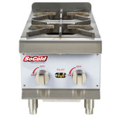 HP212 2 Burner Gas Countertop Hot Plate - 44,000 BTU