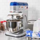 Vollrath 40755 7 Qt. Commercial Countertop Mixer w/ Guard 1/3HP