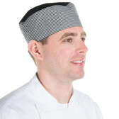 Chef Revival Poly-Cotton Blend Pill Box Chef Hat