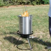 Backyard Pro Weekend Series 30 Qt. Turkey Fryer Kit with Aluminum Stock Pot and Accessories - 55,000 BTU