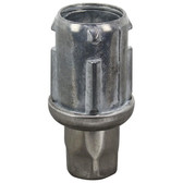"""26-2443 Stainless Steel 1 1/2"""" Adjustable Bullet Foot for 1 5/8"""" O.D. Tubing"""