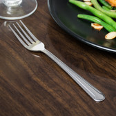 Dominion Flatware Stainless Steel Dinner Fork - 12/Pack