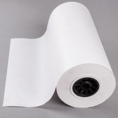 18'' x 1000' 40 lb. White Freezer Paper Roll