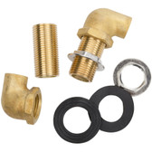 "Wall Mount Faucet Installation Kit - 1/2"" Inlet"