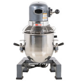 MX10 10 Qt. Gear Driven Commercial Planetary Stand Mixer with Guard - 110V, 3/4 hp