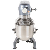 MX20 20 Qt. Gear Driven Commercial Planetary Stand Mixer with Guard - 110V, 1 hp