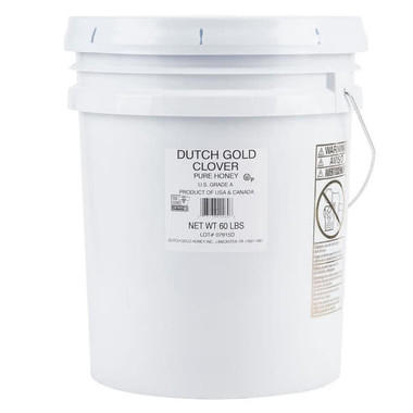 Dutch Gold 60 lb  Clover Honey (125HONCLVR60) | SOCOLD PRODUCTS