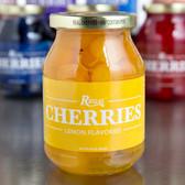Regal 16 oz. Yellow Maraschino Cherries with Stems