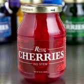 Regal 16 oz. Red Maraschino Cherries without Stems