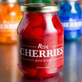 Regal 16 oz. Red Maraschino Cherries with Stems